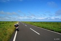 Motorcycle Vagabond / バイクで放浪したところ。