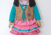 american girl cloths / by Debra Headworth Henrie