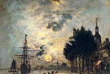 Johan Jongkind / Dutch artist (1819-1981)