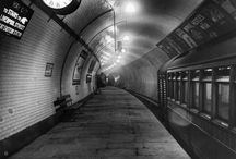 The Early Days of The London Tube / From the Victorian era through to the Second World War - features tube strikes, carriage redesigns, passenger complaints, ticket machines and air raid shelters.