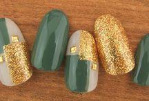 Green nails 2017