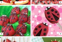 Lilahs birthday / Girls bug party