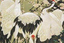 Cranes, Koi & Origami