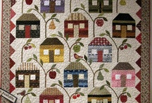 Quilts---Houses