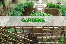 OUTDOORS :: Gardens / We have several standard garden models and also offer fully custom gardens!