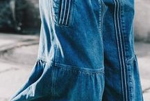 Gonne in jeans