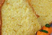 Portakallı sifon kek