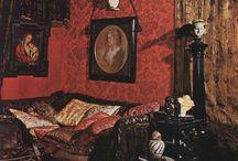 Moody interior