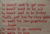 gingerbread man theme