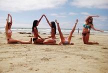 Photos créatives et fun à la plage