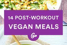 Vegan recipes for workout