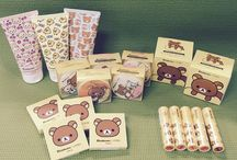 A'pieu x Rilakkuma / about Rilakkuma cosmetics :D  You can meet many more items on bbcosmetic.com