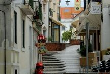 Silver Coast, Portugal / Town, cities, countryside, beaches and attractions in Silver Coast, Portugal. North of Lisbon.