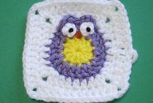 Crochet - Squares & Appliques / by Joy R