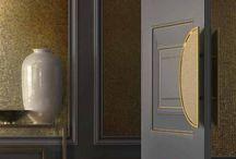 Door Pulls / http://www.mstoneandtile.com/design-trends/door-pulls/door-pulls/