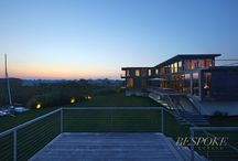 138 Seascape Lane, Sagaponack NY / Sited on nearly two waterfront acres, this home is comprised of two structures including a main dwelling with 6 bedrooms and 6 baths, as well as a full detached pool house with full kitchen, bonus room, bathroom, shower with ocean views, as well as a custom designed raised, waterside infinity-edge swimming pool. See more at: http://bit.ly/29H1Bar