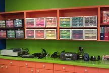 Equipment - storage