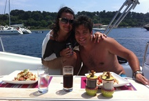 Guests Onboard / Guests onboard sailing yacht First Essential enjoying a 5* holiday in 5* surroundings