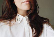 White shirt / by Annemari Koppinen