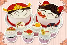 Emicakes' Chinese New Year Special! / Let's welcome the Year of the Horse with these Chinese New Year Special Cake and Cupcake Designs!