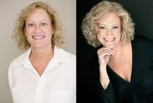 """Before and After / Before and After of Karen Wolfe Photography boudoir """"desire portraits"""