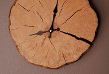 zegary drewniane