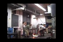 Glass Blowing / Glass blowing