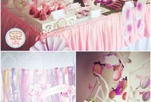 Butterfly baby shower decorations