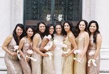 gold wedding lookbook