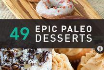 Paleo food and desserts