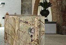MARBLE LUXURY SAFES / EXCLUSIVE SAFES CON RIVESTIMENTO IN MARMO