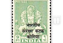 Independent India - Military Stamps / Collection of stamps of  Military of  Independent India