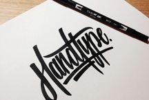 INK&PENCIL / Typography