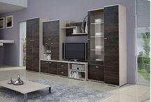 bydlení obyvák, ložnice, kuchyně