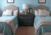 Burlap Bedroom
