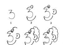 çizgi film karakter çizimi