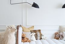 kid rooms. / nursery , toddler, young children's room inspiration ideas.