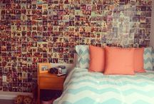 bedroom inspiration ☆ / ideas for ma bedroom