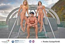 Nem mindennapi fotók készültek a Széchenyiben / A budapesti fürdők népszerűsítése a célja annak a fotósorozatnak, amelyen VB-kvalifikált magyar fitnesz versenyzők hívják fel a figyelmet sportáguk, illetve a Rudas és a Széchenyi egyedi szépségeire.