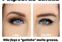 Olhos maquiagem