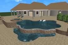 3D Designs / How fun would it be to custom design your own pool? American Pools & Spas gives you the opportunity to see your design before you build with 3D Designs.