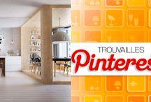 Trouvailles Pinterest: Déco scandinave