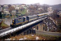 Passenger trains US