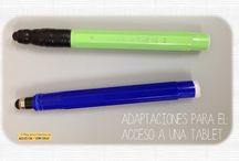 ADAPTACIONES / Adaptaciones de materiales, apoyos visuales, etc.