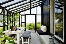 Terrasse ved sommerhus