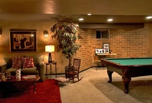 Entertainment Rooms by DF Design, Inc. / Entertainment room and basement interior renovations