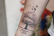 tattoos pointilism
