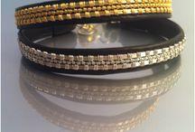 Lili Adam's jewelry /  Wire crochet jewelry  designed  by Lili Adam