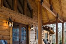 Log cabin homes decorating