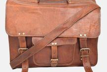 "16"" Leather Laptop Bag"